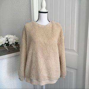 Easel Fuzzy Crewneck Sweater